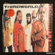 Disques de vinyle: THIRD WORLD: COMMITED (L.P.). Lote 198244162