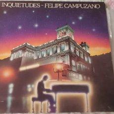 Discos de vinilo: FELIPE CAMPUZANO - INQUIETUDES. EDICION ESPECIAL BANCO MERIDIONAL 1983. Lote 198246672
