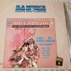 Discos de vinilo: LA HISTORIA DE LA MUSICA EN EL CINE .Nº6.- MY FAIR LADY. Lote 198246810