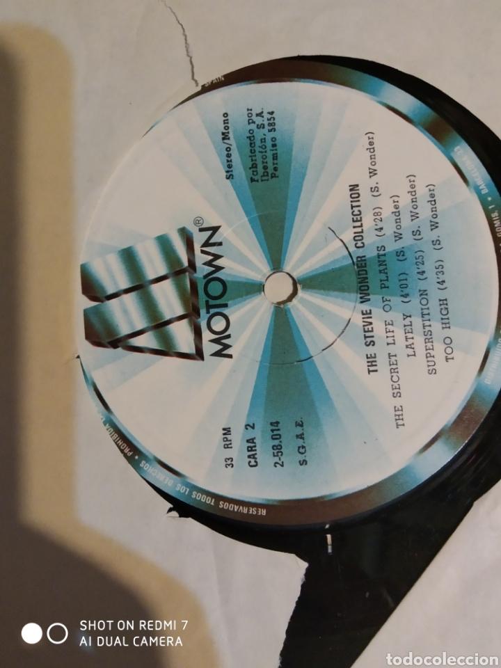 Discos de vinilo: Estuche de 4 lps de Steve Wonder collection. - Foto 3 - 198250897