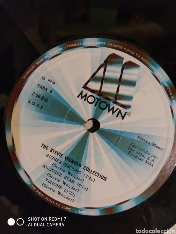 Discos de vinilo: Estuche de 4 lps de Steve Wonder collection. - Foto 4 - 198250897