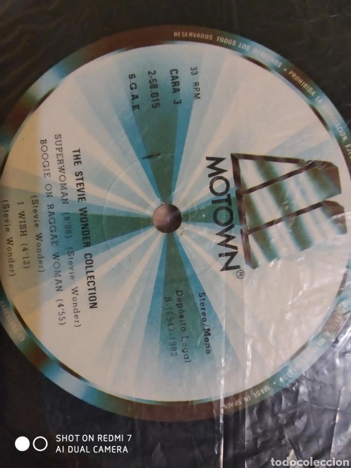 Discos de vinilo: Estuche de 4 lps de Steve Wonder collection. - Foto 6 - 198250897