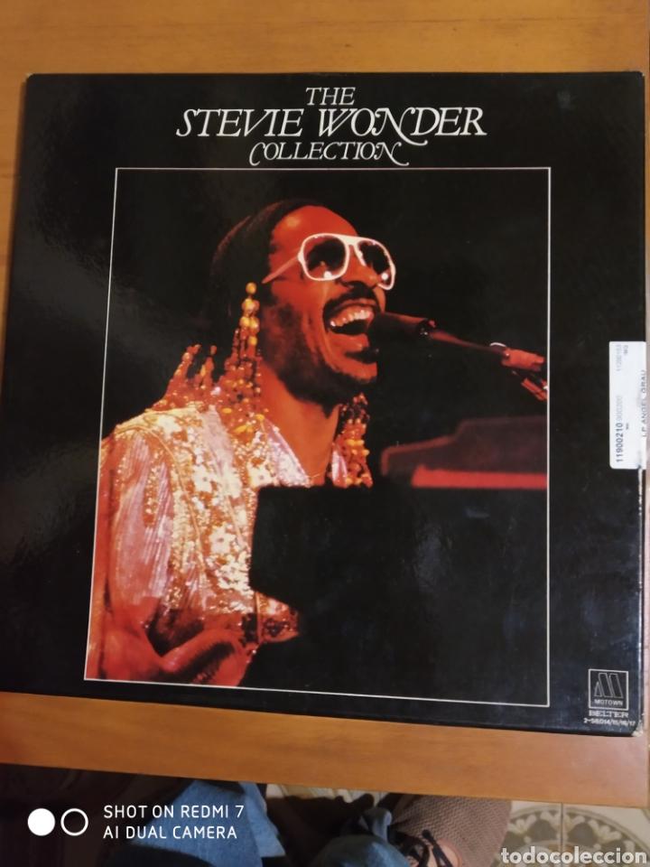ESTUCHE DE 4 LPS DE STEVE WONDER COLLECTION. (Música - Discos - LP Vinilo - Pop - Rock - New Wave Extranjero de los 80)