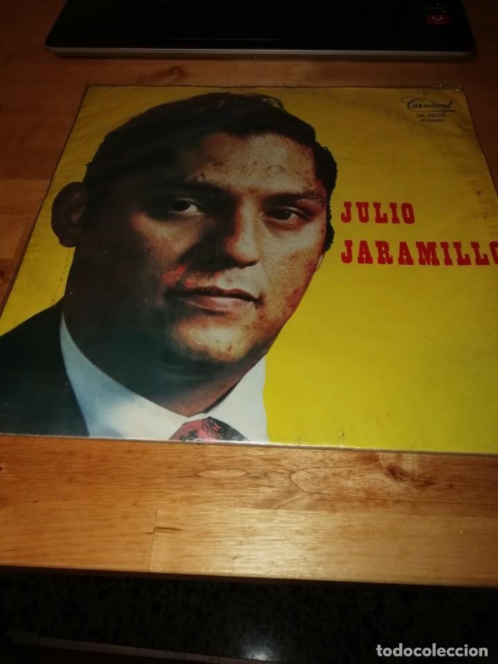 JULIO JARAMILLO - CARNAVAL 363608 - DISCOS VICTORIA - COLOMBIA 1979 - LICENCIA TAMAYO (Música - Discos - LP Vinilo - Grupos y Solistas de latinoamérica)