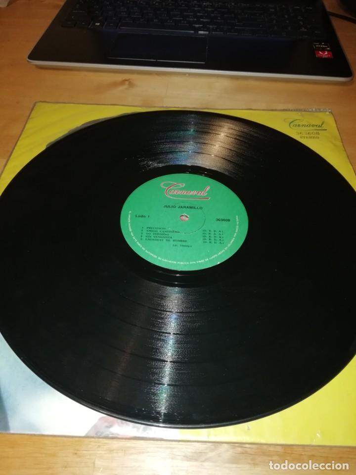 Discos de vinilo: JULIO JARAMILLO - CARNAVAL 363608 - DISCOS VICTORIA - COLOMBIA 1979 - LICENCIA TAMAYO - Foto 3 - 198254476