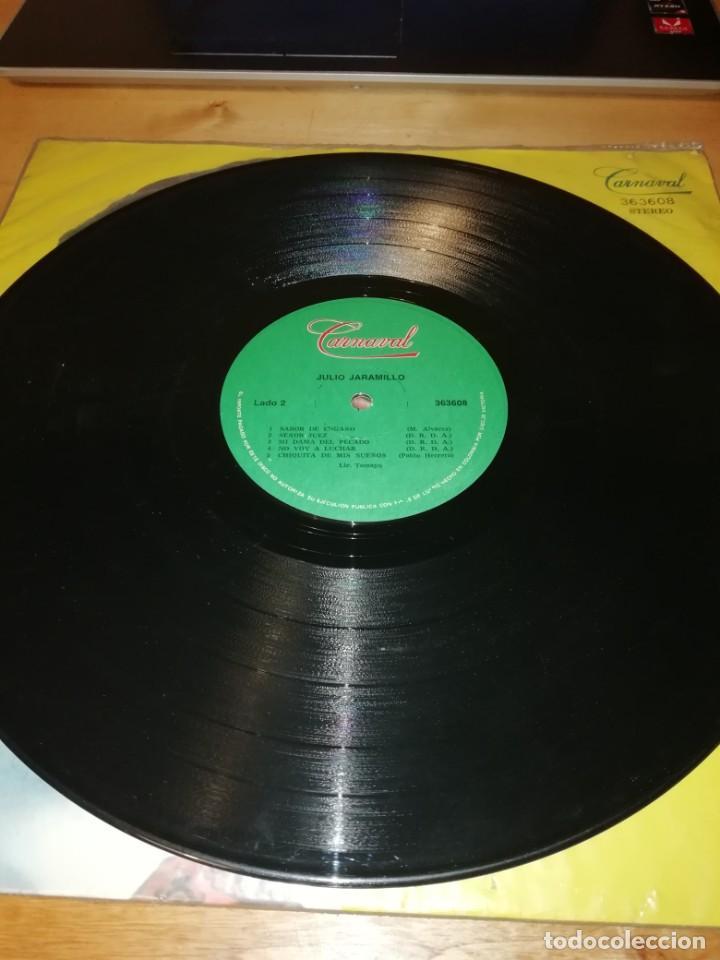 Discos de vinilo: JULIO JARAMILLO - CARNAVAL 363608 - DISCOS VICTORIA - COLOMBIA 1979 - LICENCIA TAMAYO - Foto 4 - 198254476