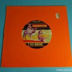 Discos de vinilo: DISSIDENTEN & LEM CHAHEB - FATA MORGANA + CASABLANCA. Lote 198254635
