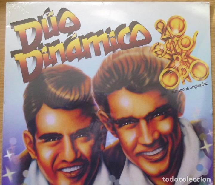 LP DEL DÚO DINÁMICO 20 ÉXITOS DE ORO, CANCIONES ORIGINALES NUEVO TODAVÍA CON EL PLÁSTICO DE SELLADO (Música - Discos - LP Vinilo - Grupos Españoles 50 y 60)