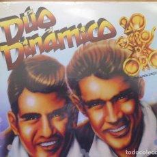 Discos de vinilo: LP DEL DÚO DINÁMICO 20 ÉXITOS DE ORO, CANCIONES ORIGINALES NUEVO TODAVÍA CON EL PLÁSTICO DE SELLADO. Lote 198255528
