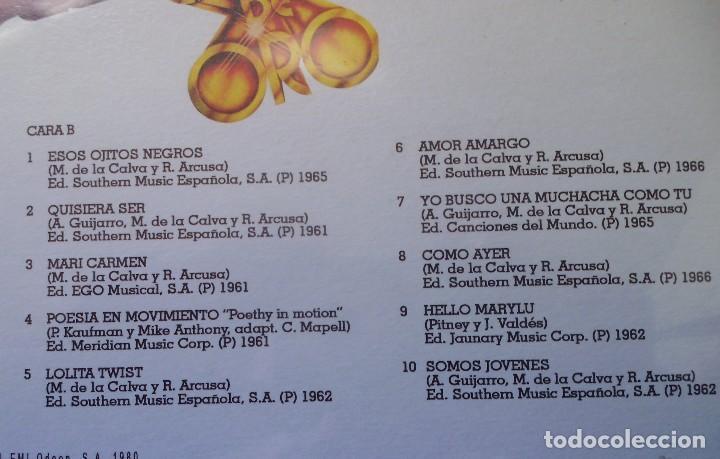 Discos de vinilo: LP DEL DÚO DINÁMICO 20 ÉXITOS DE ORO, CANCIONES ORIGINALES NUEVO TODAVÍA CON EL PLÁSTICO DE SELLADO - Foto 3 - 231315500