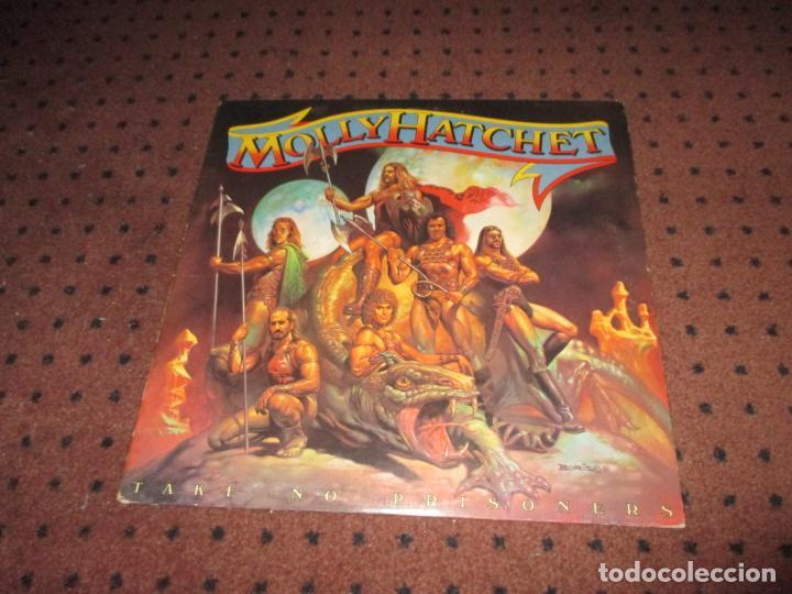 Discos de vinilo: MOLLY HATCHET - TAKE NO PRISIONERS - USA - EPIC - REF FE 37480 - L - - Foto 2 - 198292688