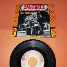 Discos de vinilo: DESDE SANTURCE A BILBAO BLUES BAND. EL IDOLO . MONCHO ALPUENTE . EXPLOSION RECORDS 1972.. Lote 198297485