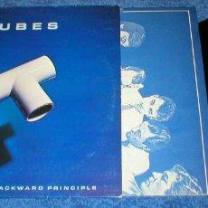 Discos de vinilo: THE TUBES SPAIN LP 1981 THE COMPLETION BACKWARD PRINCIPLE POP ROCK NEW WAVE BUEN ESTADO !. Lote 198305363