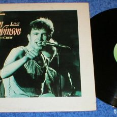 Discos de vinilo: TOM ROBINSON AND CREW SPAIN LP 1987 MIDNIGHT AT THE FRINGE LIVE EN DIRECTO NEW WAVE POP ROCK VEMSA . Lote 198305971