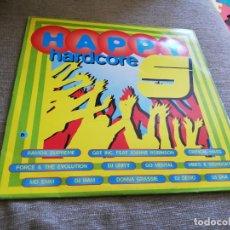 Disques de vinyle: HAPPY HARDCORE 5-DOBLE LP. Lote 198311708