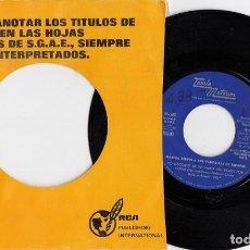 Discos de vinilo: MARTHA REEVES 6 THE VANDELLAS CANTAN EN ESPAÑOL - SINGLE PROMOCIONAL GRABADO POR UNA SOLA CARA #. Lote 198314131