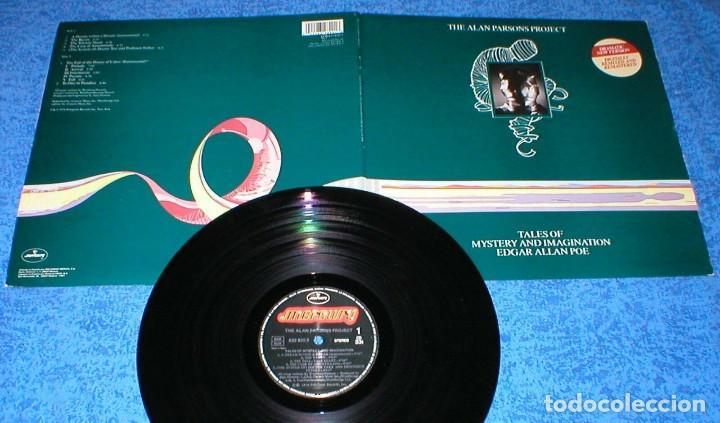 THE ALAN PARSONS PROJECT SPAIN LP TALES OF MYSTERY AND IMAGINATION REMASTERIZADO + LIBRETO 1987 (Música - Discos - LP Vinilo - Pop - Rock - Internacional de los 70)