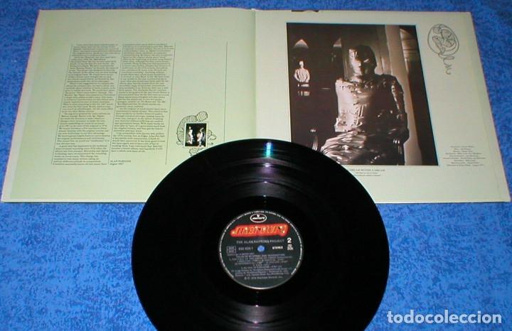 Discos de vinilo: THE ALAN PARSONS PROJECT SPAIN LP TALES OF MYSTERY AND IMAGINATION REMASTERIZADO + Libreto 1987 - Foto 2 - 198330292