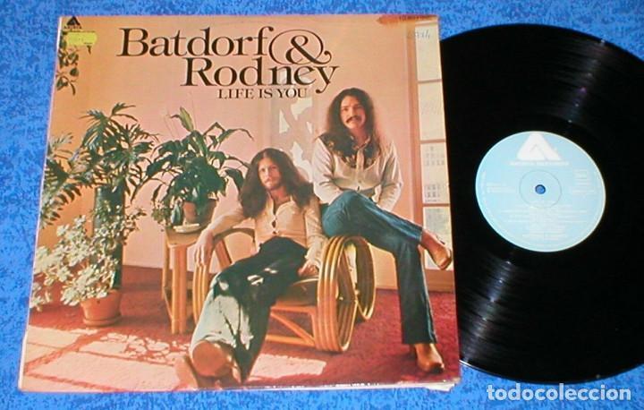BATFORD & RODNEY SPAIN LP 1975 LIFE IS YOU POP ROCK COUNTRY FOLK SOFT ROCK BUEN ESTADO RARO MIRA !! (Música - Discos - LP Vinilo - Pop - Rock - Internacional de los 70)