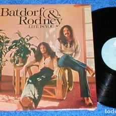 Discos de vinilo: BATFORD & RODNEY SPAIN LP 1975 LIFE IS YOU POP ROCK COUNTRY FOLK SOFT ROCK BUEN ESTADO RARO MIRA !!. Lote 198332581