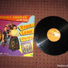 Discos de vinilo: ROCKY SHARPE AND THE REPLAYS - RAMA LAMA DING DONG - MAXI - SPAIN - MAX MUSIC - LV - . Lote 198332927