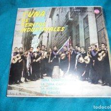 Discos de vinilo: TUNA DE PERITOS INDUSTRIALES. EP. RCA VICTOR, 1962. Lote 198337451
