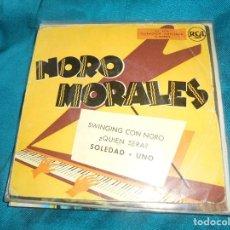 Discos de vinilo: NORO MORALES. SWINGING CON NORO + 3. EP. RCA. Lote 198340496