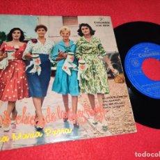 Discos de vinil: ANA MARIA PARRA LAS CHICAS DE LA CRUZ ROJA BSO /JURO ADORARTE/TIMIDA SERENATA +1 EP 1958 COLUMBIA. Lote 198342818