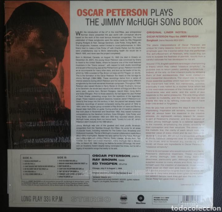 Discos de vinilo: Oscar Peterson Plays The Jimmy McHugh Song Book - Foto 2 - 198344085