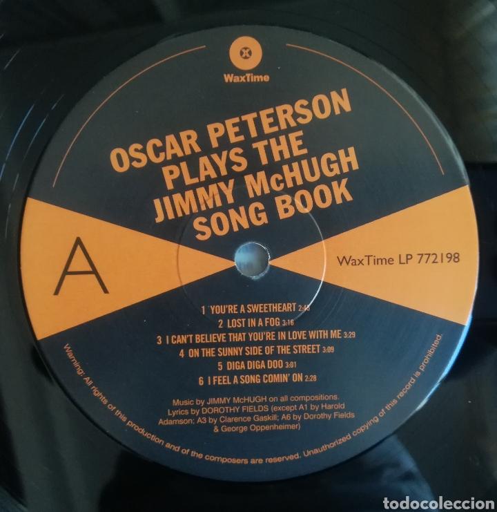 Discos de vinilo: Oscar Peterson Plays The Jimmy McHugh Song Book - Foto 3 - 198344085