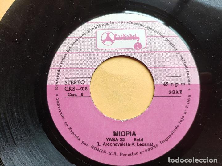 Discos de vinilo: MIOPIA - 45 Spain PS - MINT * CANTAD AL ROCK N ROLL / YASA - Foto 5 - 198344121