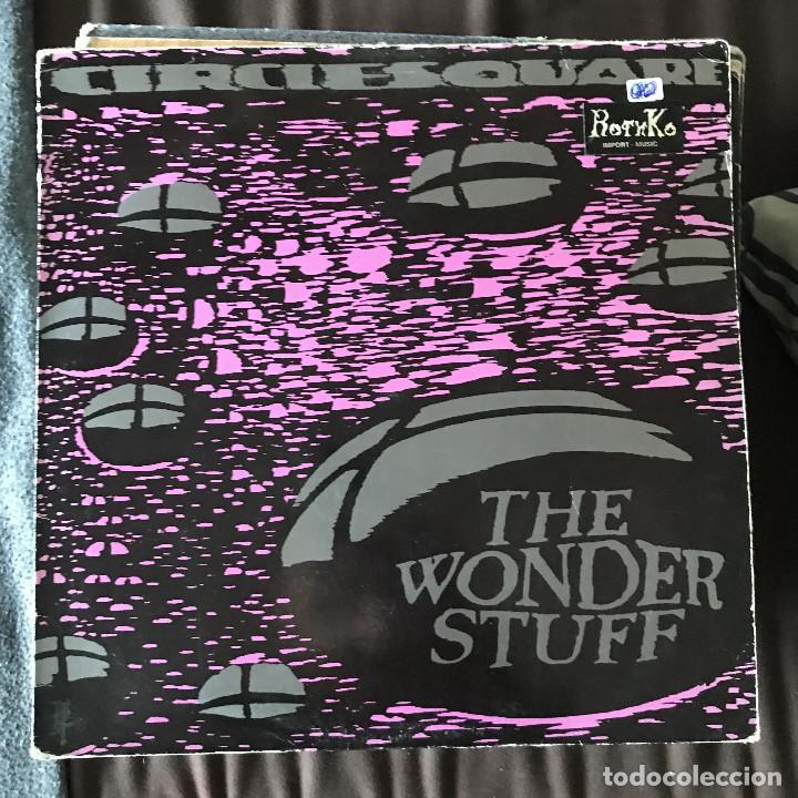 WONDER STUFF - CIRCLESQUARE - 12'' MAXISINGLE POLYDOR UK 1990 (Música - Discos de Vinilo - Maxi Singles - Pop - Rock Extranjero de los 90 a la actualidad)