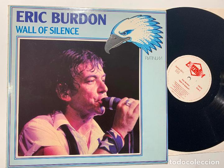 LP ERIC BURDON WALL OF SILENCE EDICION INGLESA DE 1985 (Música - Discos - LP Vinilo - Pop - Rock - New Wave Extranjero de los 80)