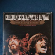 Discos de vinilo: DOBLE VINILO CREEDENCE CLEARWATER REVIVAL THE 20 GREATEST HITS. Lote 198347293