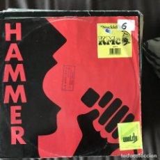 Discos de vinilo: KMC - NUCKLEHEAD - 12'' MAXISINGLE HAMMER UK 1990. Lote 198348337