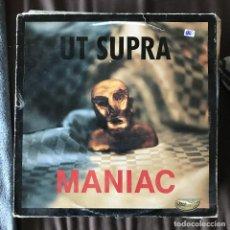 Discos de vinilo: UT SUPRA - MANIAC - 12'' MAXISINGLE NEOTEK 1992. Lote 198348673