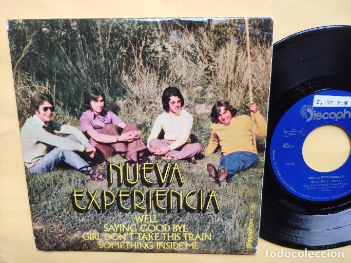 Discos de vinilo: NUEVA EXPERIENCIA - EP Spain PS - MINT * WELL / SAYING GOOD BYE / GIRL DON T TAKE THIS TRAIN + 1 - Foto 1 - 198353372