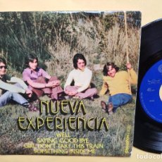 Discos de vinilo: NUEVA EXPERIENCIA - EP SPAIN PS - MINT * WELL / SAYING GOOD BYE / GIRL DON' T TAKE THIS TRAIN + 1. Lote 198353372