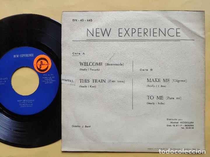 Discos de vinilo: NEW EXPERIENCE - EP Spain PS - MINT * WELL / THIS TRAIN / MAKE ME / TO ME - Foto 2 - 198353512