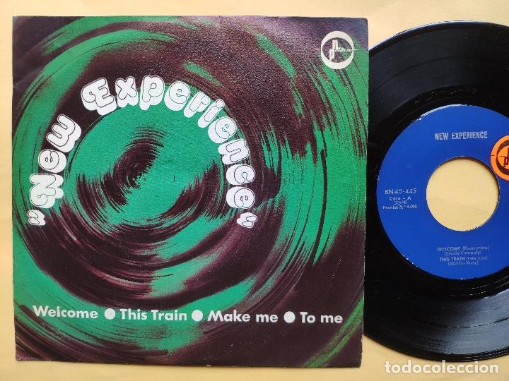 NEW EXPERIENCE - EP SPAIN PS - MINT * WELL / THIS TRAIN / MAKE ME / TO ME (Música - Discos de Vinilo - EPs - Grupos Españoles de los 70 y 80)