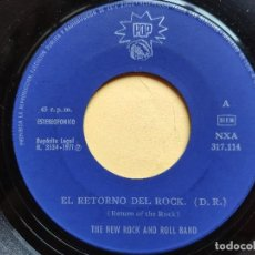 Discos de vinilo: THE NEW ROCK AND ROLL BAND - 45 SPAIN - EX * EL RETORNO DEL ROCK / SHOOL DAYS * 1971. Lote 198354141