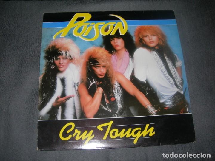 LP / EP POISON-CRY TOUGJH 12´´ MAXI ENVIO GRATUITO Y CERTIFICADO (Música - Discos de Vinilo - EPs - Heavy - Metal)