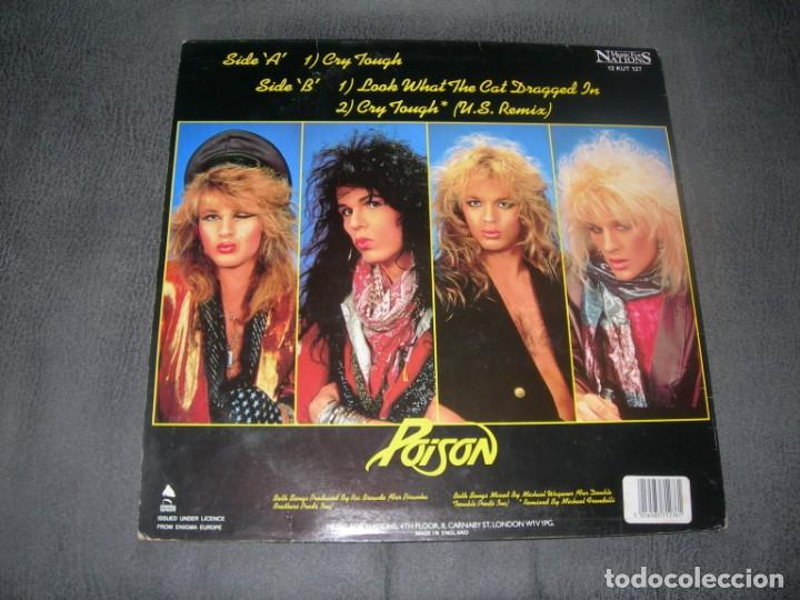 Discos de vinilo: LP / EP POISON-CRY TOUGJH 12´´ MAXI envio gratuito y certificado - Foto 2 - 198355320