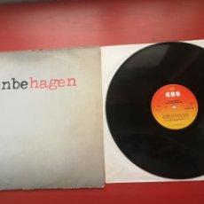 Discos de vinilo: NINA HAGEN BAND-UNBEHAGEN-LP ALEMAN CBS 1979. Lote 198355490