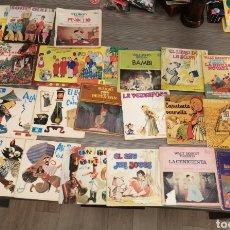 Discos de vinilo: LOTE VINILOS INFANTILES AÑOS 70-80. Lote 198356600