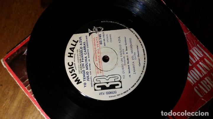 Discos de vinilo: julio molina cabral, yo quiero un pañuelo azul...industria argentina - Foto 5 - 198361540