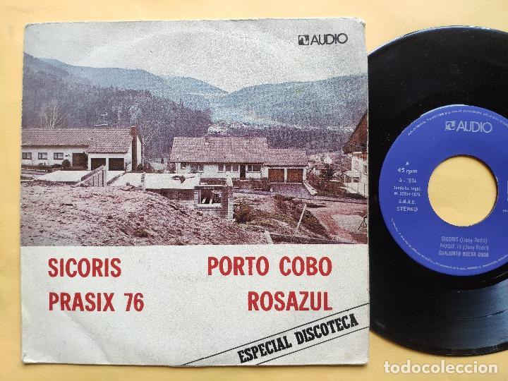 CONJUNTO NUEVA ONDA - EP SPAIN PS - VG++ * SICORIS / PRASIX 76 / PORTO COBO / ROSAZUL * AUDIO VIDEO (Música - Discos de Vinilo - EPs - Grupos Españoles de los 70 y 80)