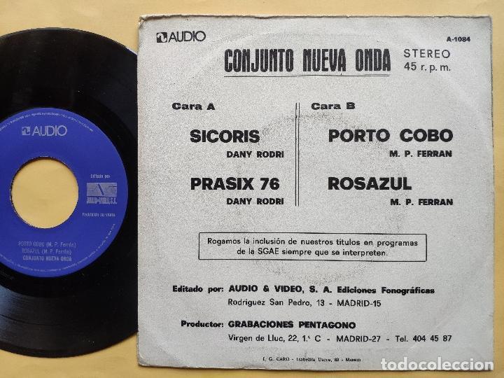 Discos de vinilo: CONJUNTO NUEVA ONDA - EP Spain PS - VG++ * SICORIS / PRASIX 76 / PORTO COBO / ROSAZUL * AUDIO VIDEO - Foto 2 - 198363048
