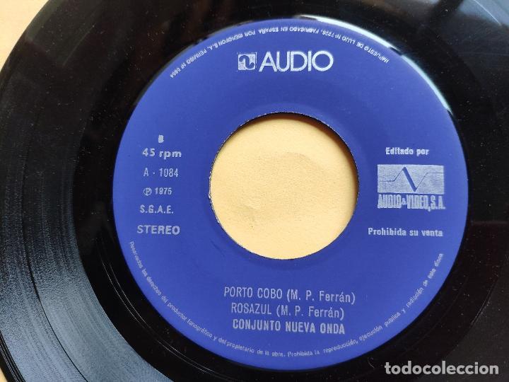 Discos de vinilo: CONJUNTO NUEVA ONDA - EP Spain PS - VG++ * SICORIS / PRASIX 76 / PORTO COBO / ROSAZUL * AUDIO VIDEO - Foto 4 - 198363048