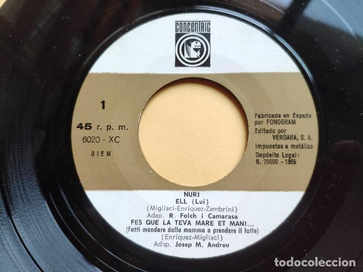 Discos de vinilo: NURI - EP Spain PS - EX+ * SHOW YE YE * ELL / ES UNA DONA ( BEATLES COVER ) + 2 * CON HOJA INTERIOR - Foto 5 - 198364383